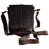Mini Messenger Henrik - Brown - Unisex - Greenwood Australia - Handcrafted Premium Leather Goods