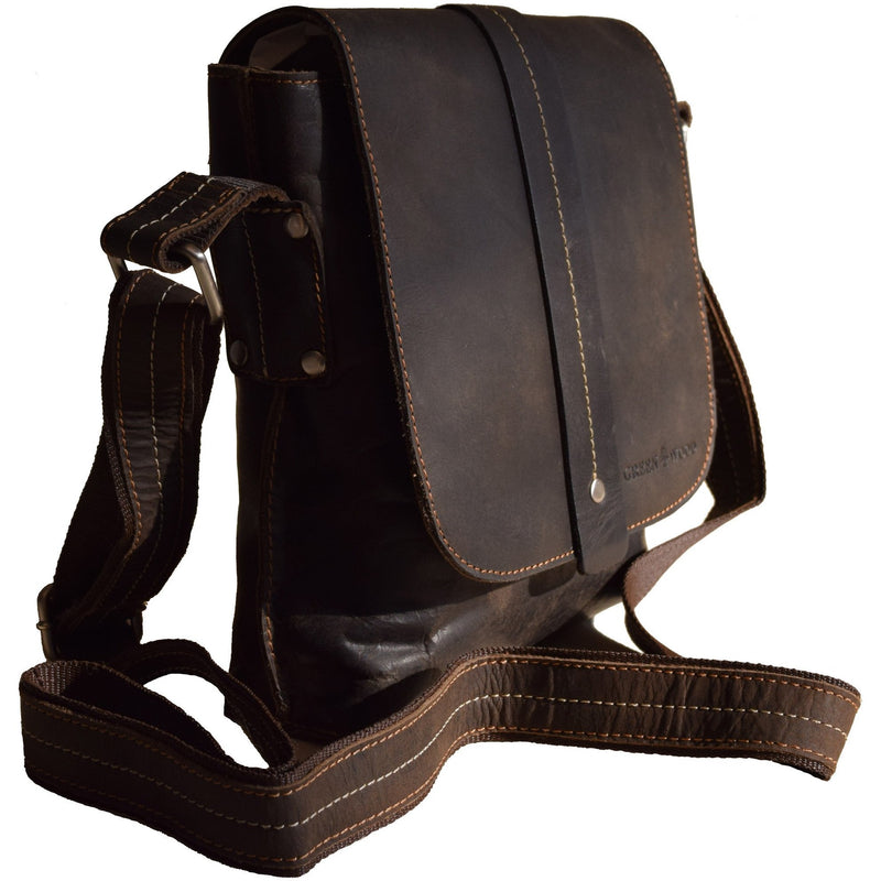 Mini Messenger Henrik - Brown - Unisex
