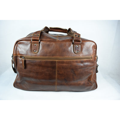 Voyager Duffle Bag - Sandal - Leather Greenwood Bag | The Greenwood Leather Online Shop Australia
