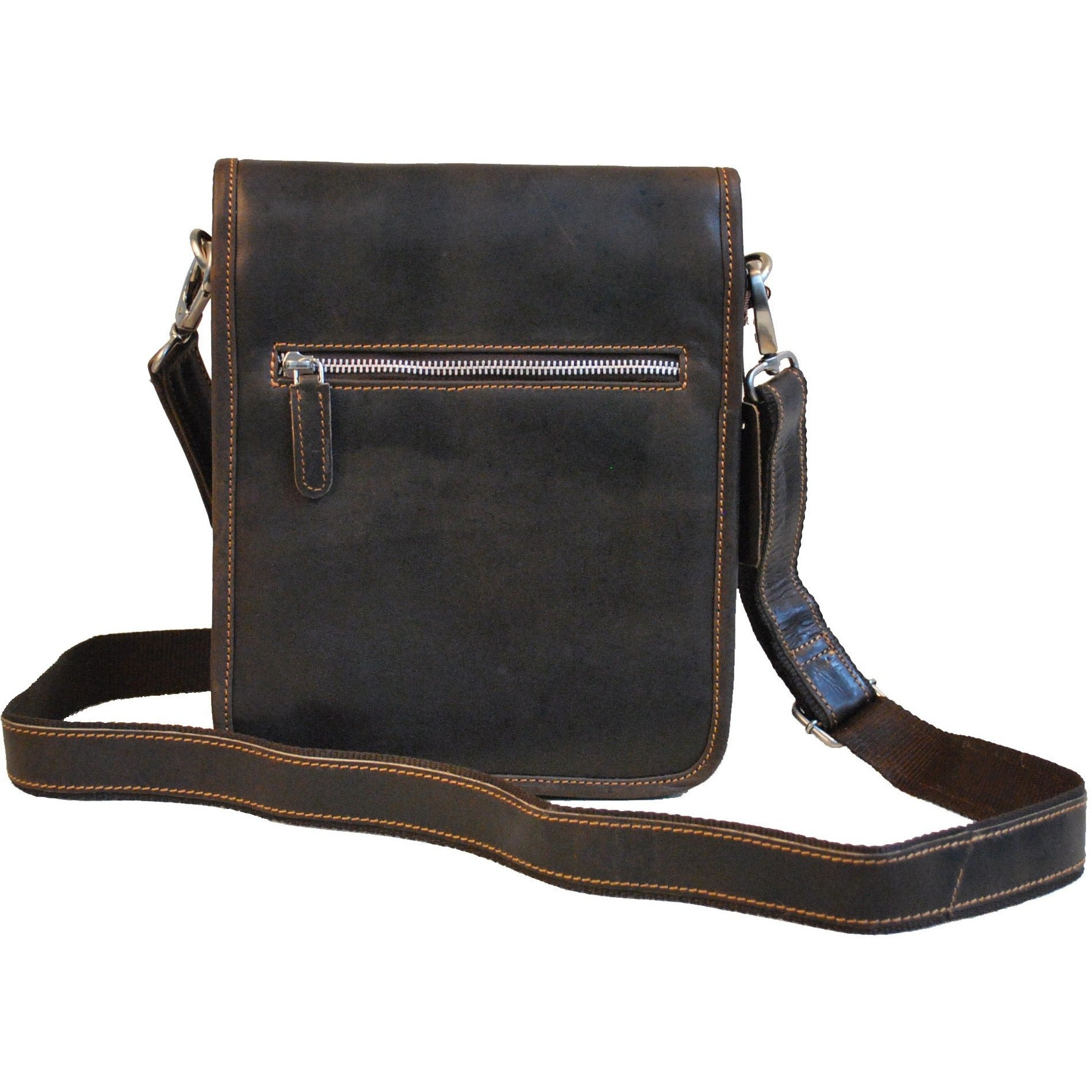 Hanne Everyday Satchel  - brown - unisex - Greenwood Australia - Handcrafted Premium Leather Goods