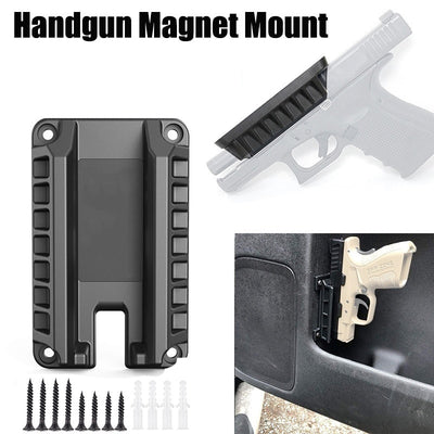 Tactical Magnetic Gun Holster Quickdraw For Car And Home