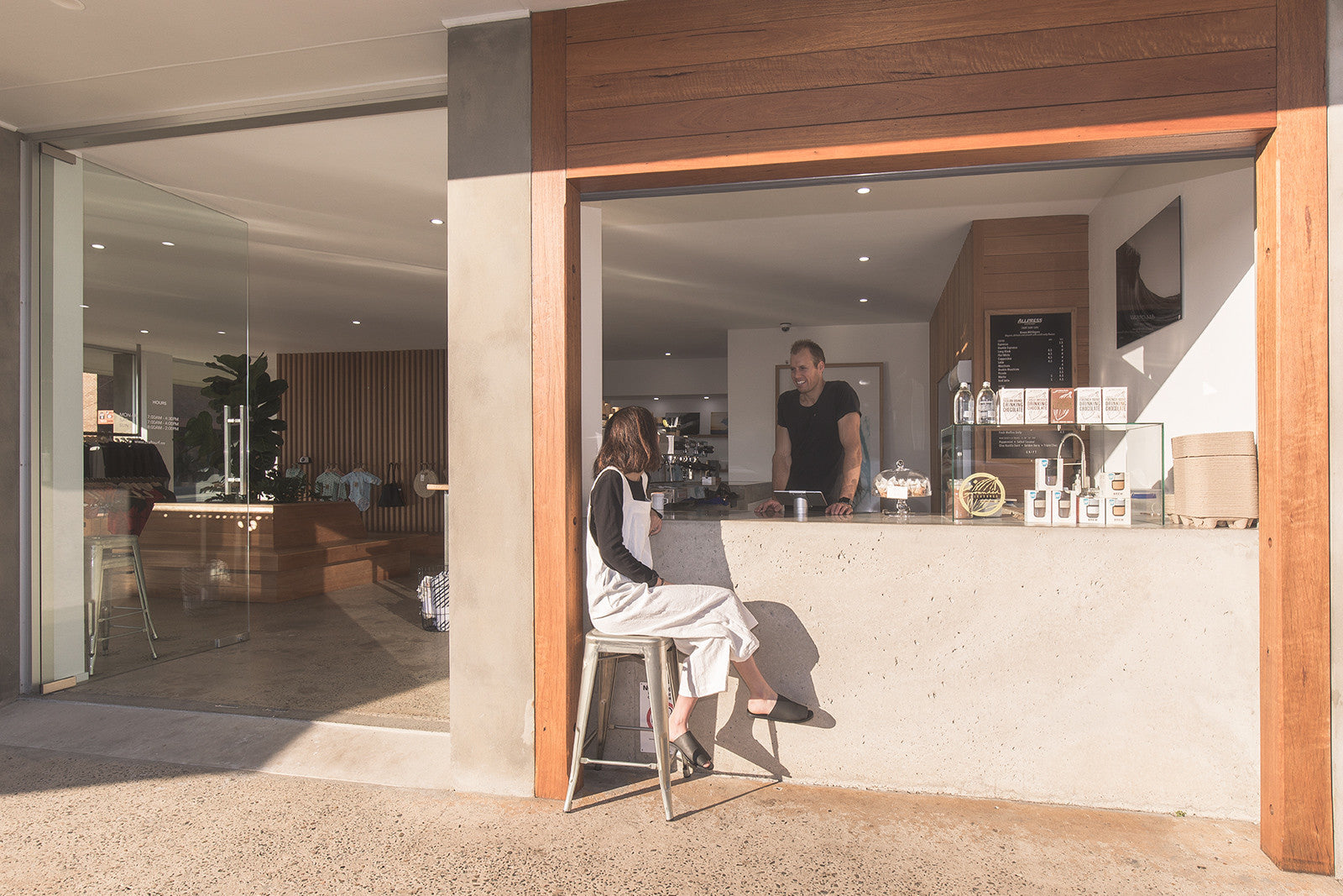 Craft Surf Lifestyle Cafe Serving AllPress Coffee in Ulladulla