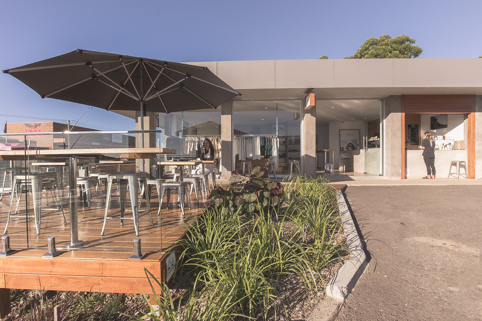 Surf and Lifestyle Cafe serving AllPress Coffee in Ulladulla