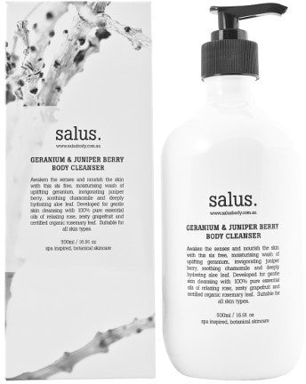 Salus -  GERANIUM & JUNIPER BERRY  BODY WASH