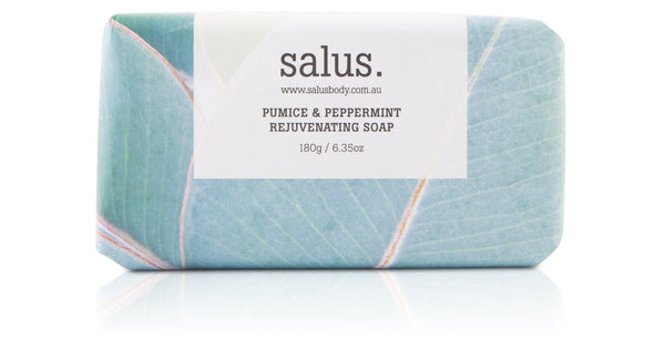 Salus Body - PUMICE & PEPPERMINT REJUVENATING SOAP