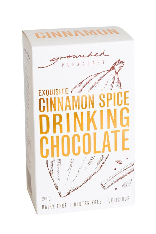 Grounded Pleasures - Cinnamon Spiced Drinking Chocolate Box 200g