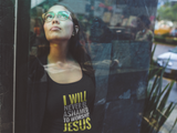 NOT ASHAMED TO WORSHIP JESUS - PeculiarPeople StandOut Christian Apparel