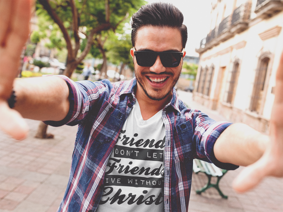 FRIENDS DONT LET FRIENDS - PeculiarPeople StandOut Christian Apparel