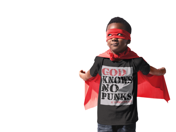 GOD KNOWS NO PUNKS - PeculiarPeople StandOut Christian Apparel