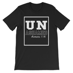 UNAshamed 'Romans 1:12- EveryDay Crew Tee - PeculiarPeople StandOut Christian Apparel