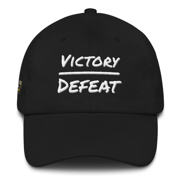 Victory Over Defeat Dad hat - PeculiarPeople StandOut Christian Apparel