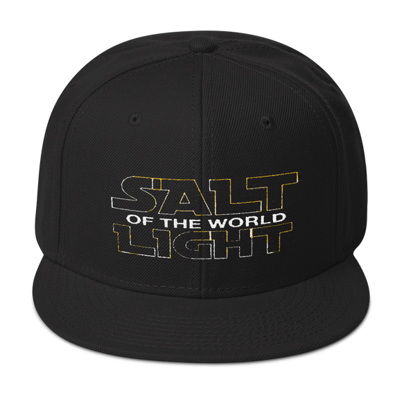 Salt and Light of the world - SnapBack - PeculiarPeople StandOut Christian Apparel