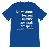 NOT TODAY SATAN - PeculiarPeople StandOut Christian Apparel