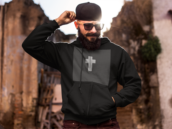 Cross bearer hoodie - PeculiarPeople StandOut Christian Apparel