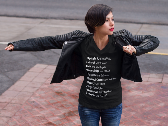 LOVE LIKE JESUS - WOMEN - PeculiarPeople StandOut Christian Apparel