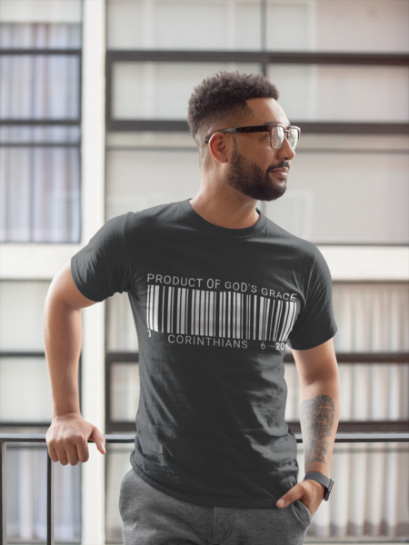 PRODUCT OF GOD'S GRACE - Men - PeculiarPeople StandOut Christian Apparel