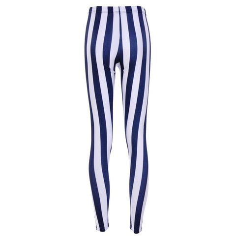 Digital Beetlejuice printed Attractive Women cheap White Mid Waisted Casual Leggings  - Single Color
