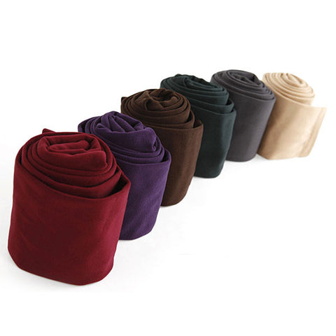 Winter Thick Warm Brushed Lining Stretch Online Cheap Leggings - 6 Colors