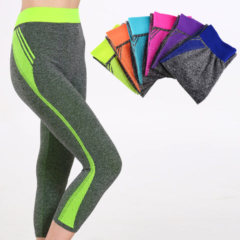 Candy coloured high waisted women Yoga/Gym/Workout leggings - 10 colours