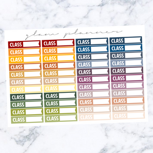Fall Multicolor: Class Labels