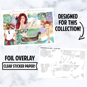 Thingamabob: Full Boxes Foiled Overlay, Glitter Holo