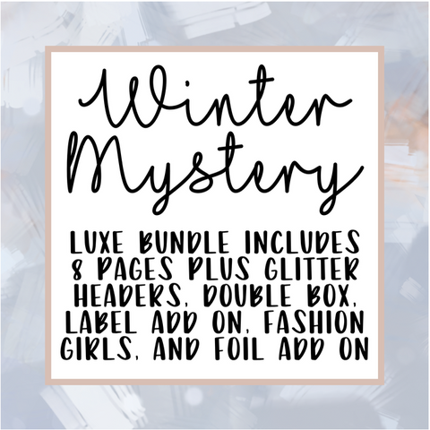 Winter Mystery Bundle 2020