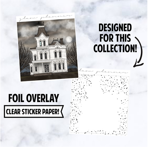 Creepy Pasta: Double Box Foiled Overlay