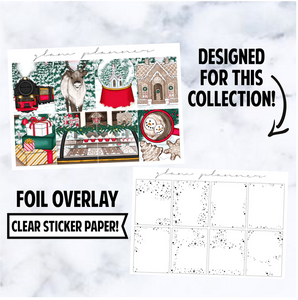 Christmas Village 2020: Foiled Overlay Full Boxes, Silver
