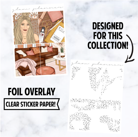 Get It Done: Foiled Overlay, Rose Gold