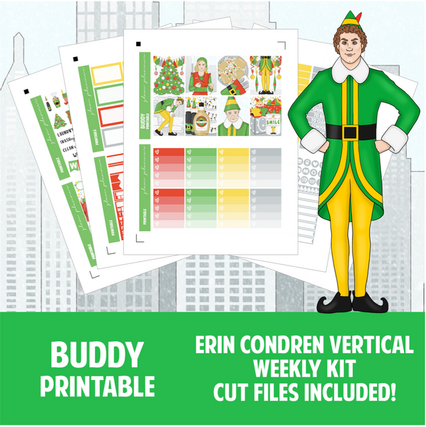 Buddy Printable Sticker Kit