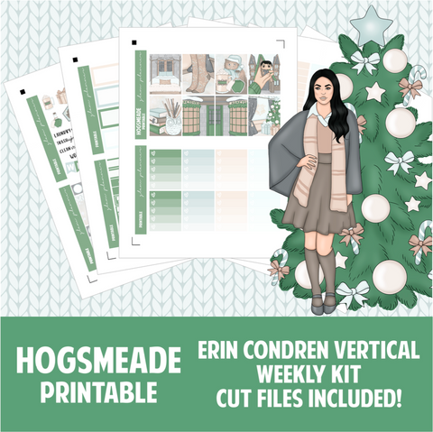 Hogsmeade Printable Sticker Kit