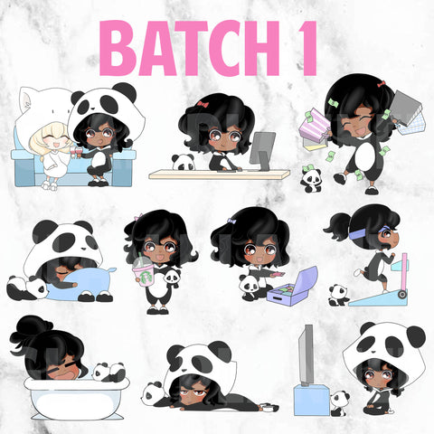 Batch 1 - Polka and Dot