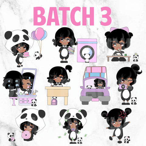 Batch 3 - Polka and Dot