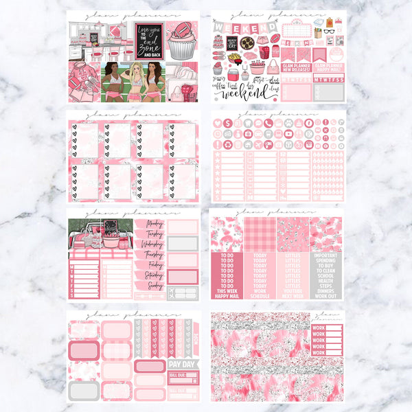 Pink Touch Down Luxe Kit
