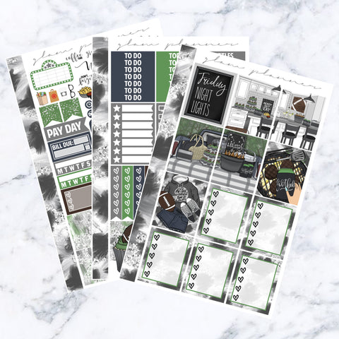 Classic Touch Down Essentials Sticker Kit
