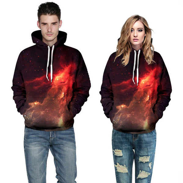 2018 Hipster Nebula Galaxy - Hoodie Lover
