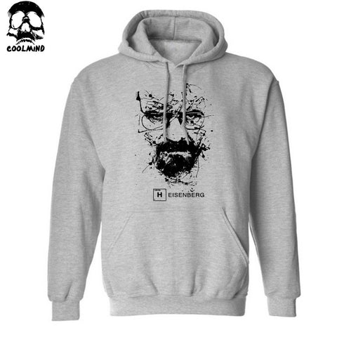 Cotton Blend Breaking Bad Men Casual Fleece Mens Hoodie - Hoodie Lover