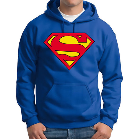 Superman - Batman Hooded Men Casual Cotton Fall & Winter  Hoodie - Hoodie Lover