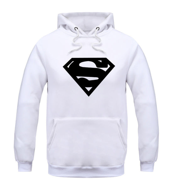 Superman Series O-neck Hoodie - Hoodie Lover