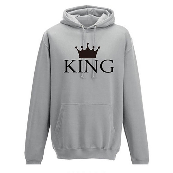 Couple Hoodies THE KING QUEEN - Hoodie Lover