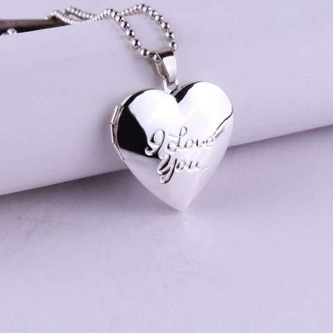 Valentine Day Gift Forever Love Necklace Heart Pendant - Hoodie Lover
