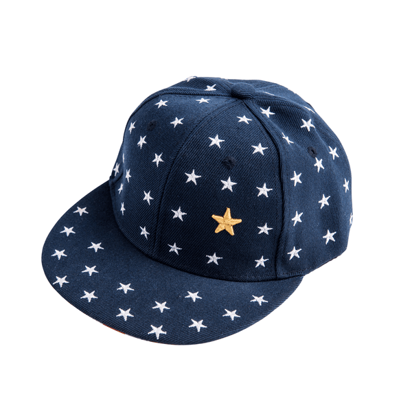 Navy Star Cap