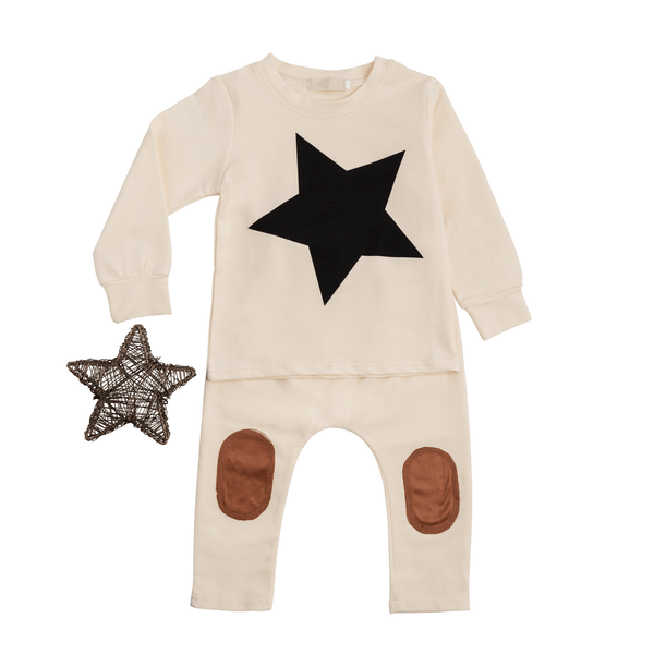 Star Set with Elbow Patches