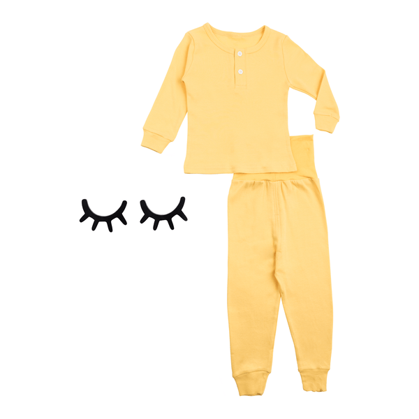 Cozy Sleepwear in Yellow