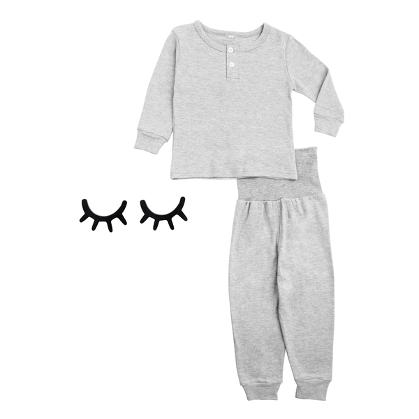 Grey Cozy Sleepwear