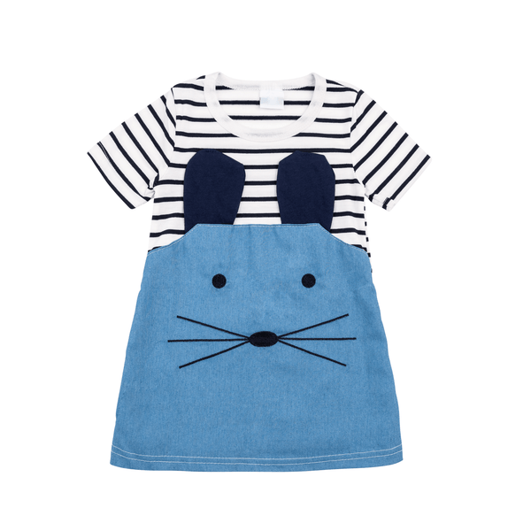 Denim Mouse Dress