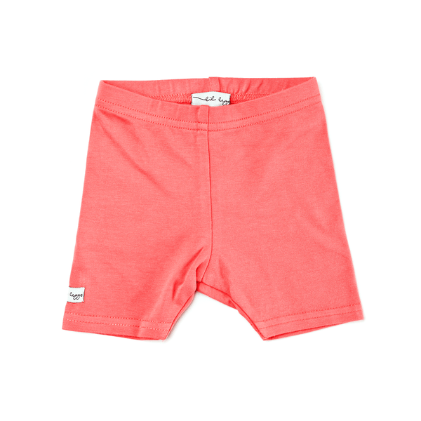 Lil Leggs Short Leggings in Coral