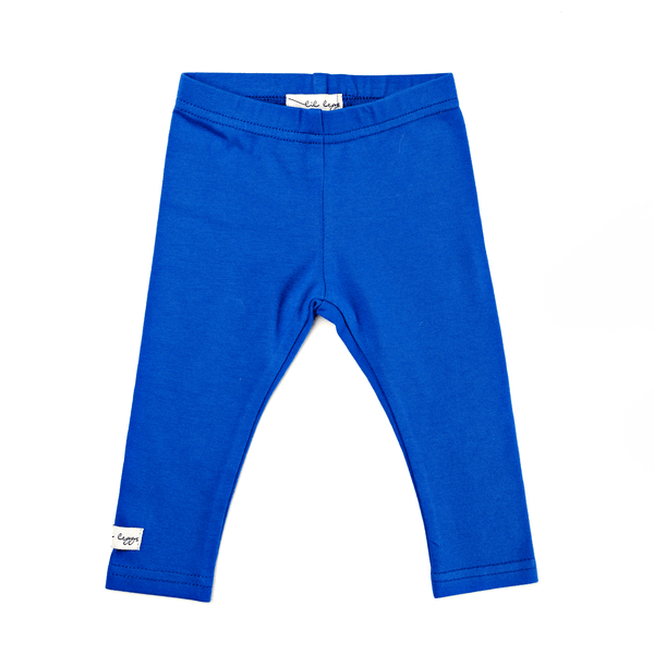 Lil Leggs Long Leggings in Cobalt Blue
