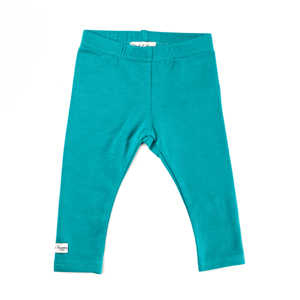 Lil Leggs Long Leggings in Teal
