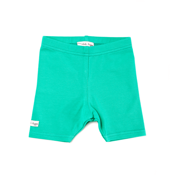 Lil Leggs Legging Shorts in Kelly Green